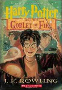 The cover of JK Rowling's Harry Potter and the Goblet of Fire